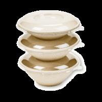 EKO PAK Product LIDS Round Bowls