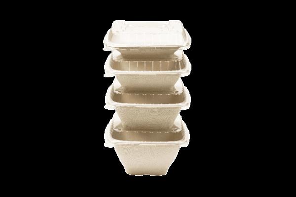 EKO PAK Product LIDS Square Bowls